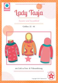 Farbenmix naaipatroon lady Tasja Sweater - sweaterjurk 32-46