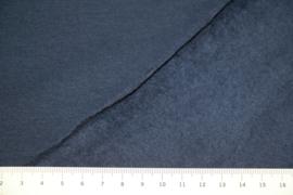 Brushed joggingstof: donkerblauw Eike Swafing, per 25 cm