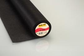 Vlieseline H200 zwart 90 cm breed per meter