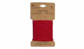 Kaart elastiek 5mm RED, 3 meter
