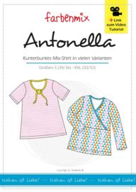 Farbenmix naaipatroon Antonella: voor dames S (34/36) - XXL (50/52)