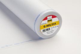 Vlieseline G 405 softline wit 90 cm per meter