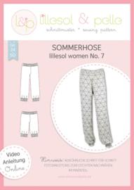 Lillesol & Pelle women zomerbroek maat 34 t/m 50