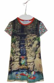 Meisjesjurk gnomes maat 92 -116