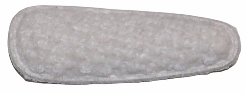 kniphoesje licht harig met wafeltje off-white 55 mm