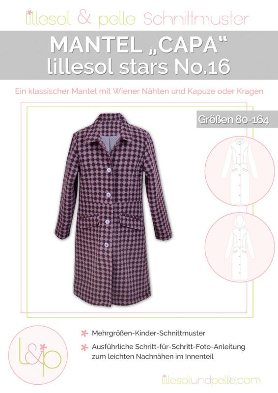 Lillesol & Pelle girls Mantel Capa Maat 80-164