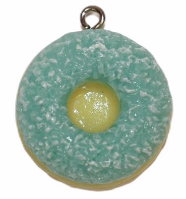 Donut hanger 24 mm smurf met suiker
