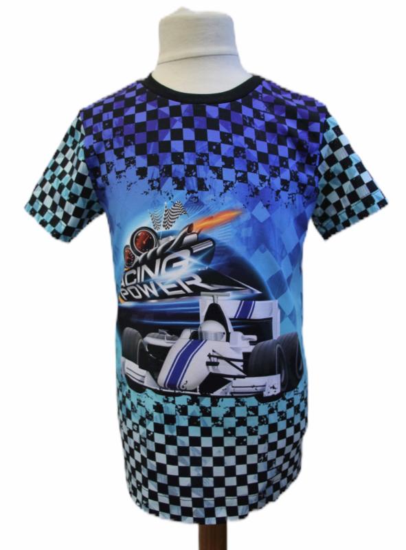 Shirt: RACING POWER maat 116-146