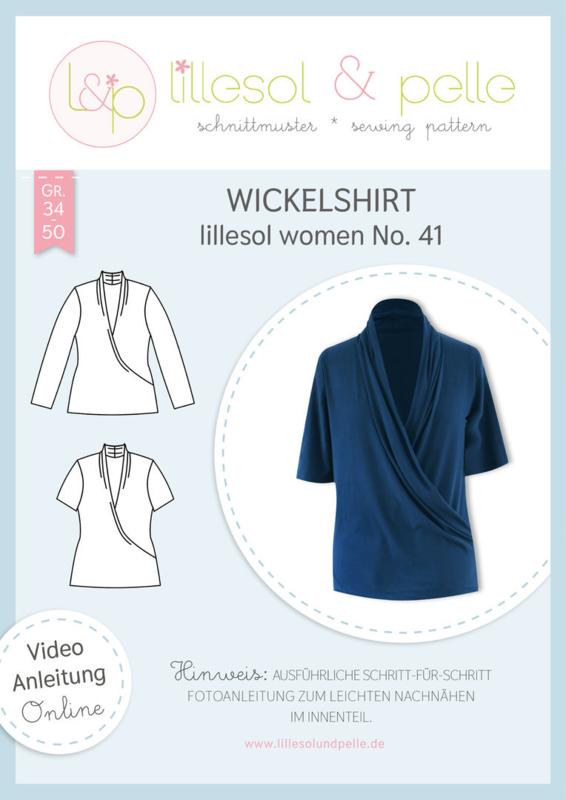 Lillesol & Pelle women wikkel shirt maat 34 t/m 50
