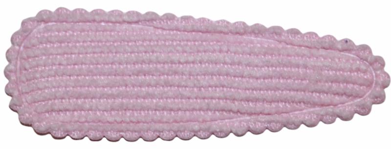 kniphoesje rib lichtroze 55 mm