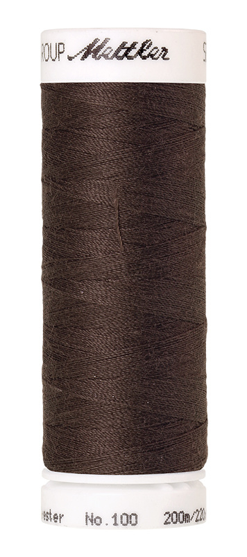 Amann Seralon machinegaren kleur Earthy Brown Coal 0399