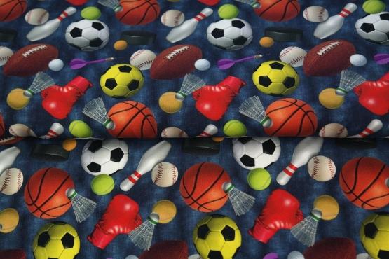 Digitale print French Terry  tricot : sport (Stenzo) per 25 cm