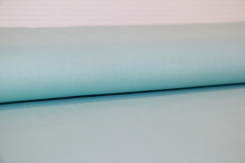 Effen katoen:  zacht-mint Candy (Swafing) per 25 cm