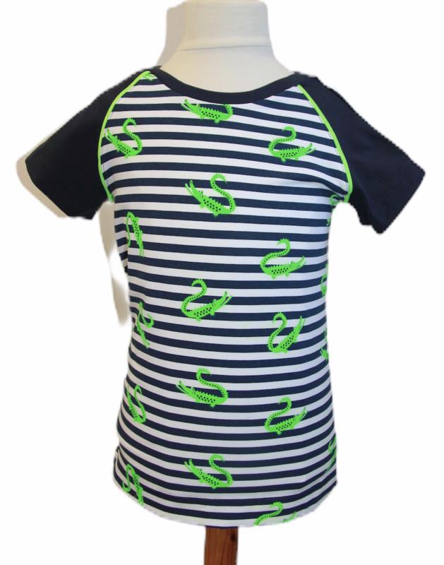 Shirt: neon crocodile 92-128