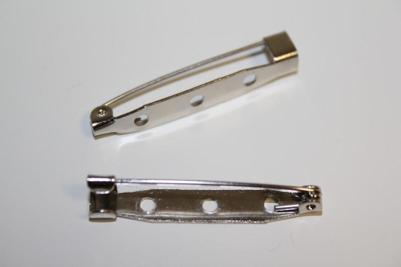 Brochespeld 38 mm, per stuk