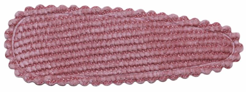 kniphoesje rib oudroze 55 mm