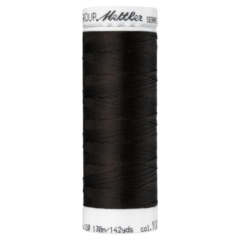 Amann Metzler SERAFLEX garen, kleur 1002 very dark brown