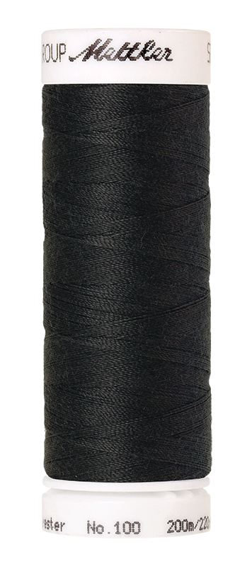 Amann Seralon machinegaren kleur Charcoal 1282