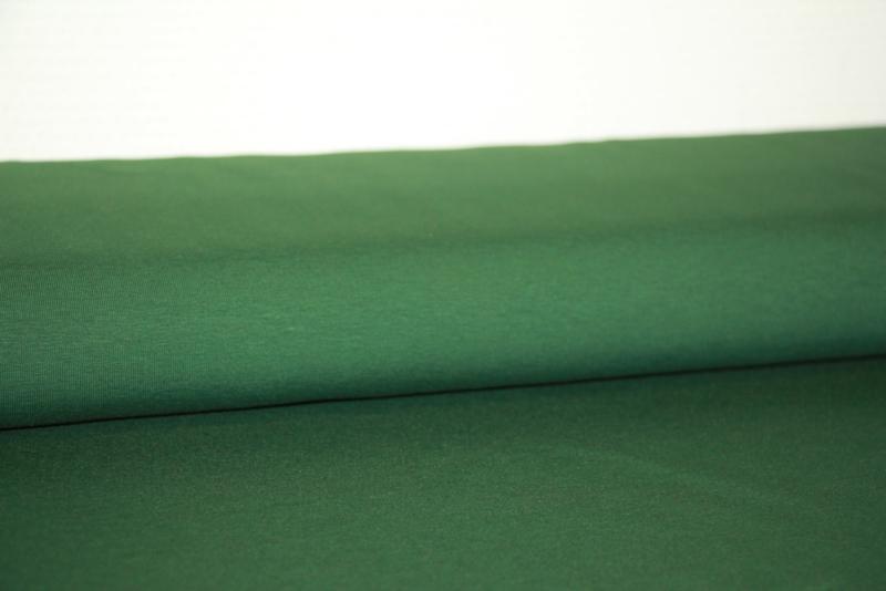 Tricot effen forest green per 25cm