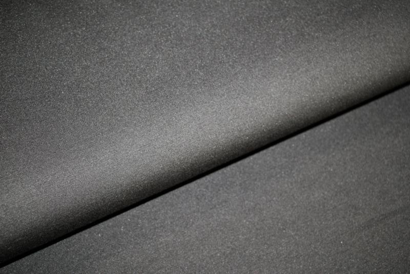 Heavy nylon punta zwart, per 25 cm