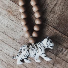 Ketting witte baby tijger