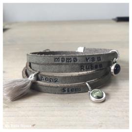 Mama armband - army green
