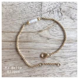 Armband - gold - jade