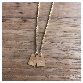 Ketting Your Story | gold filled
