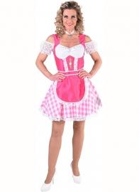 Tirools jurkje bont pink