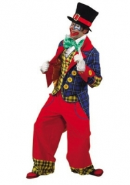 Clownsjas gevoerd luxe