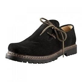 Zwarte trachten schoenen
