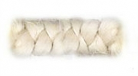 Wolcrepe wit 100cm