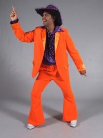Oranje disco pak
