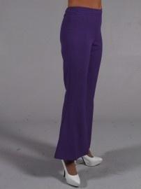 Disco / 70's wijde broek paars
