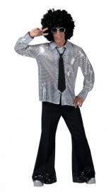 Glitter blouse Zilver / silver