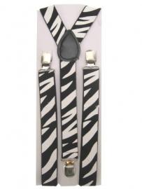 Bretels zebra