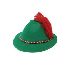 Oktoberfest hoedje met veer Promo