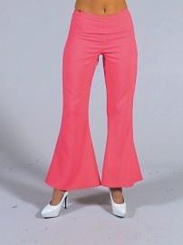 Disco / 70`s wijde broek roze
