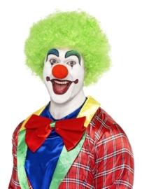 Clownspruik groen