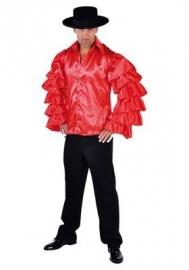 Samba blouse rood