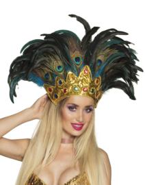 Hoofdtooi peacock