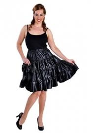 Plooi rok zwart modern