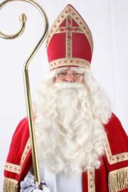Sinterklaas baard en vaste snor