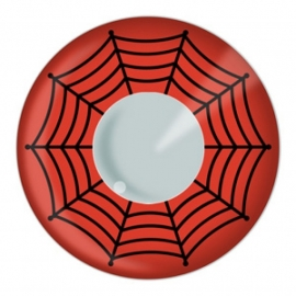 Party contactlenzen Red Web