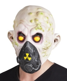 Latex masker nucleaire zombie
