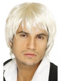 Pruik D.J. Roy blond