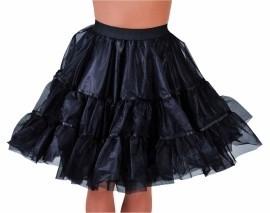 Petticoat kniehoogte zwart