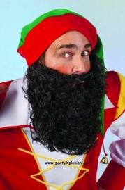 Maxi baard zwart
