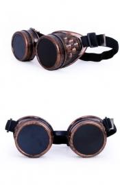 Steampunk bril koper