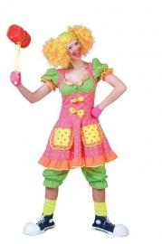 Clowns jurk Fluorina